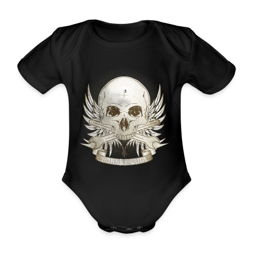 Born To Ride - Vintage   Man - Baby Bio-Kurzarm-Body