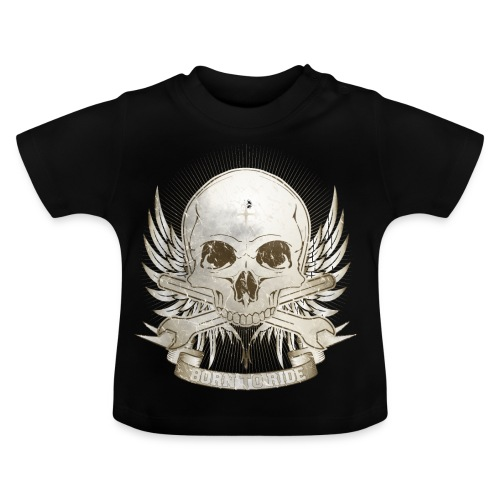 Born To Ride - Vintage   Man - Baby T-Shirt