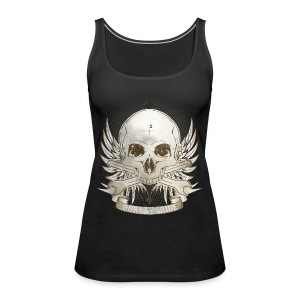 Born To Ride - Vintage   Man - Frauen Premium Tank Top