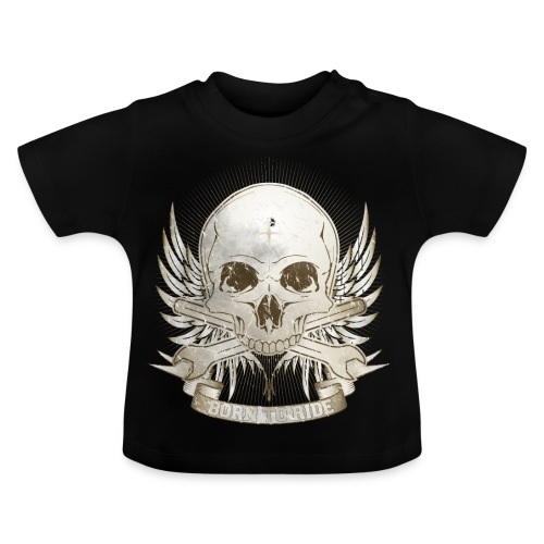 Born To Ride - Vintage   Baby - Baby T-Shirt