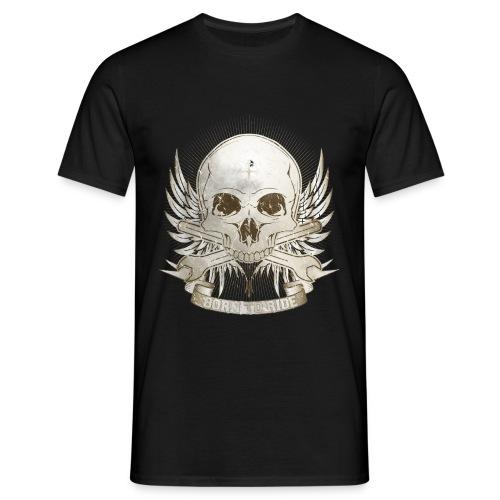 Born To Ride - Vintage   Baby - Männer T-Shirt