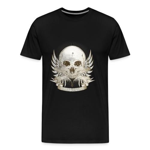 Born To Ride - Vintage   Baby - Männer Premium T-Shirt