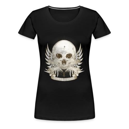 Born To Ride - Vintage   Baby - Frauen Premium T-Shirt