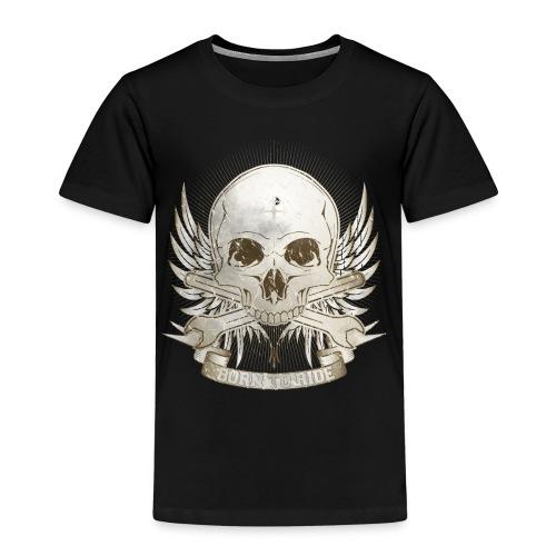 Born To Ride - Vintage   Baby - Kinder Premium T-Shirt