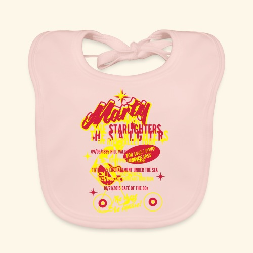 Marty and the Starlighters, Tour-Shirt - Baby Bio-Lätzchen