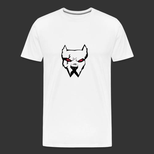 Baseball Cap Wild Fox - Men's Premium T-Shirt