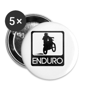 Enduro Rider HQ - Buttons klein 25 mm