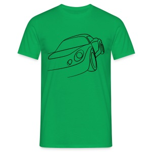 Sportwagen Speed Tribal - Männer T-Shirt