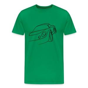 Sportwagen Speed Tribal - Männer Premium T-Shirt