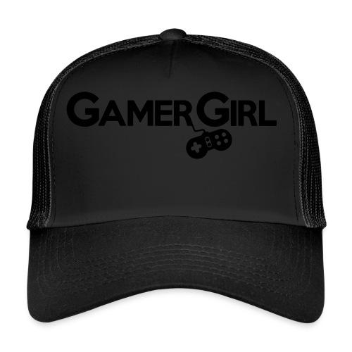 GAMER GIRL Mütze Nerd Beanie Zockerin - Trucker Cap