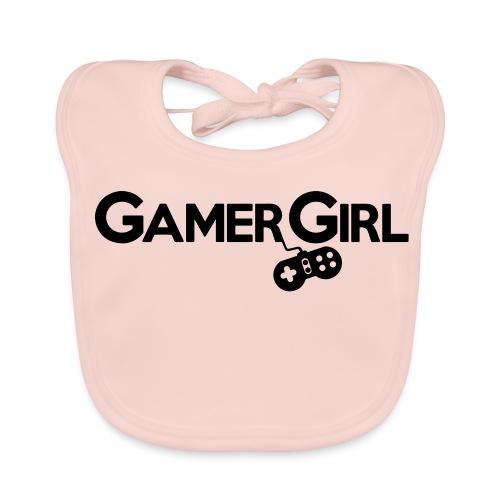 GAMER GIRL Mütze Nerd Beanie Zockerin - Baby Bio-Lätzchen