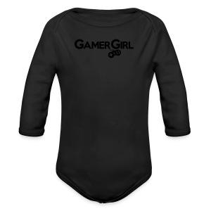 GAMER GIRL Mütze Nerd Beanie Zockerin - Baby Bio-Langarm-Body