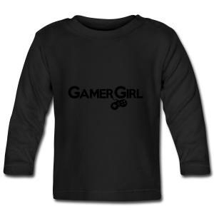 GAMER GIRL Mütze Nerd Beanie Zockerin - Baby Langarmshirt