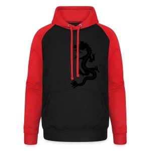 Dragon Tribal - Unisex Baseball Hoodie