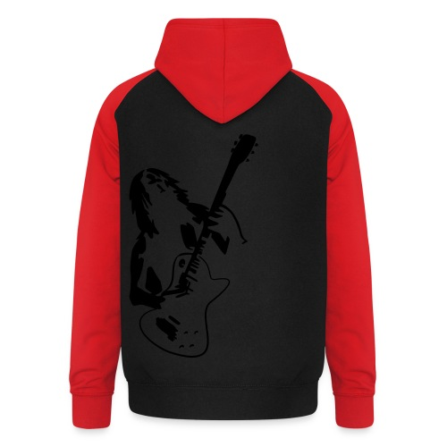 Hard Rock Musik Tribal  - Unisex Baseball Hoodie