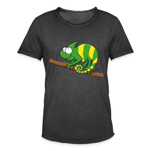 Thoddys Chamäleon - Männer Vintage T-Shirt