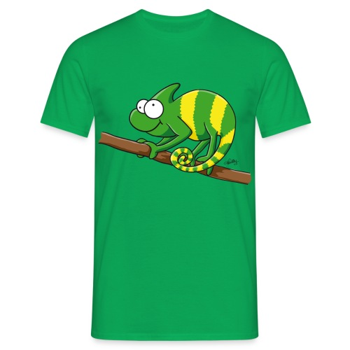 Thoddys Chamäleon - Männer T-Shirt