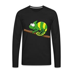 Thoddys Chamäleon - Männer Premium Langarmshirt
