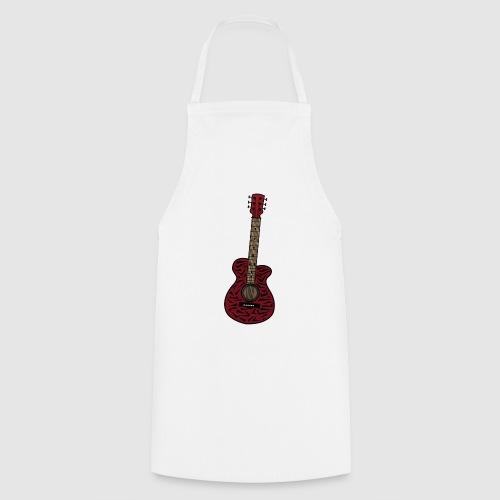 Kochschürze - unschwer zu erkenn ist dies eine gitarre im zebra look