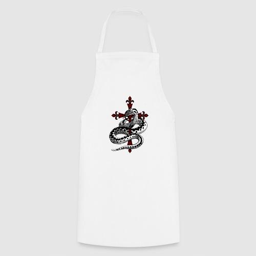 Schlange - Kochschürze