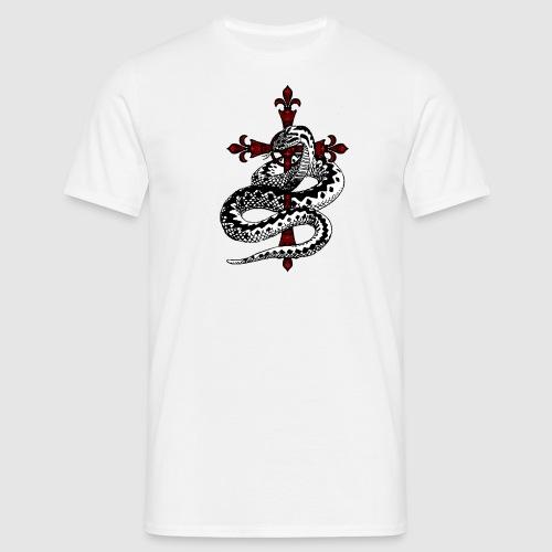 Schlange - Männer T-Shirt