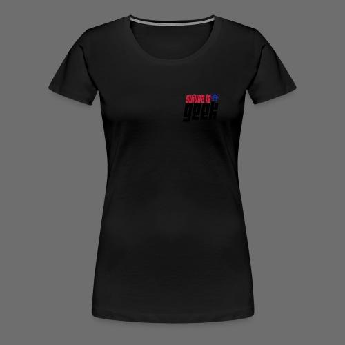 Veste Geeks BF4  - T-shirt Premium Femme