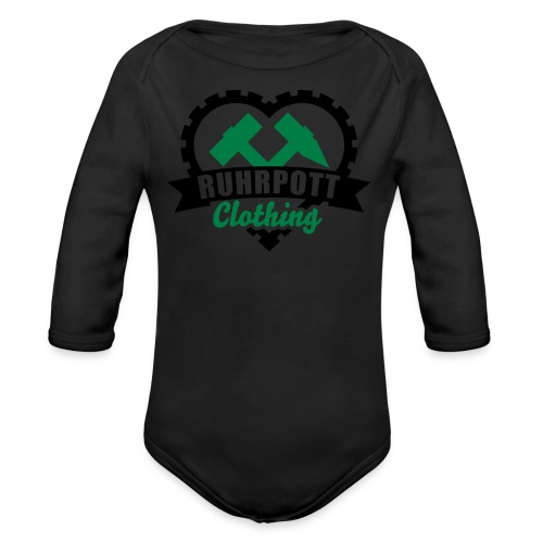 Ruhrpott Clothing - Kinder Pullover - Baby Bio-Langarm-Body