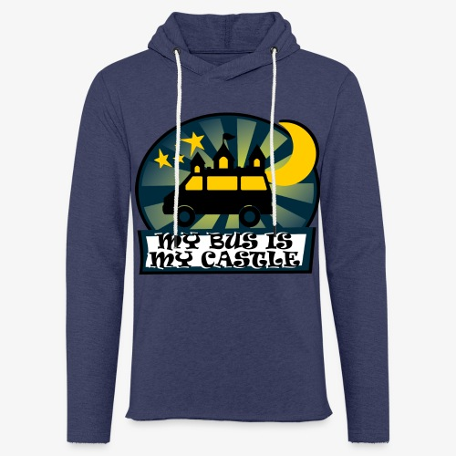 My Bus Is My Castle II - Leichtes Kapuzensweatshirt Unisex