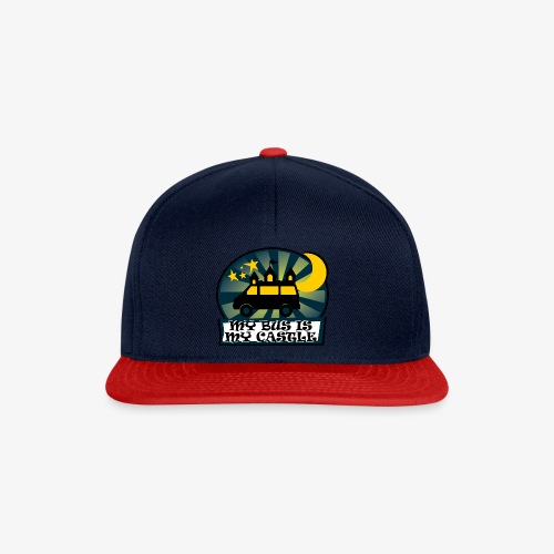 My Bus Is My Castle II - Snapback Cap