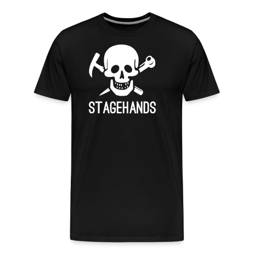 Stagehands Skull - Men's Premium T-Shirt