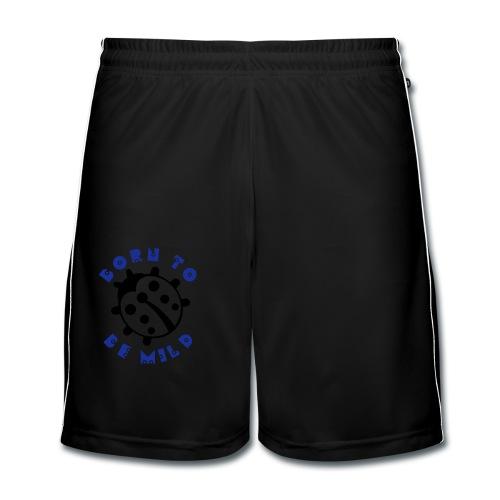 BORN2MILD silver glitter - Mannen voetbal shorts
