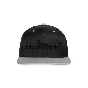 Longsleeve Shirt - Kontrast Snapback Cap