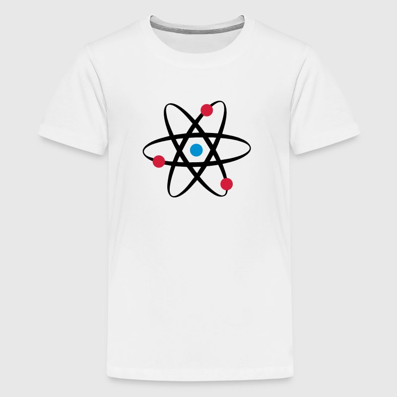 big bang  atome physik T-Shirts - Teenager Premium T-Shirt