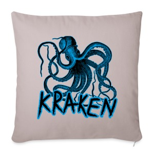 Kraken - The octopus monster - Sofa pillow cover 44 x 44 cm