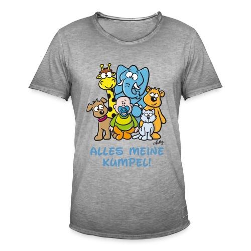Der Baby Helden-Body - Männer Vintage T-Shirt