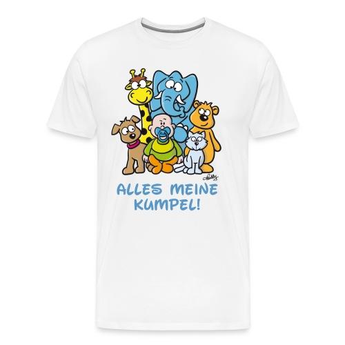 Der Baby Helden-Body - Männer Premium T-Shirt