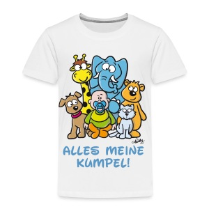 Der Baby Helden-Body - Kinder Premium T-Shirt