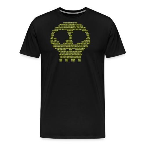 E - aditives skull - Men's Premium T-Shirt