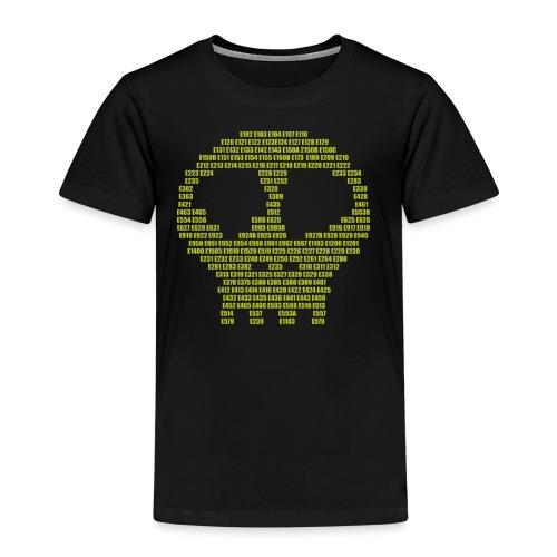 E - aditives skull - Kids' Premium T-Shirt