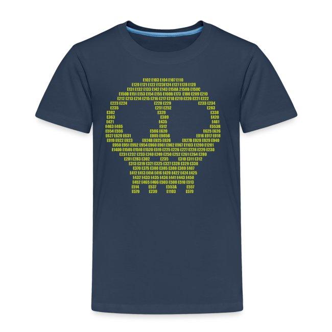 E - aditives skull