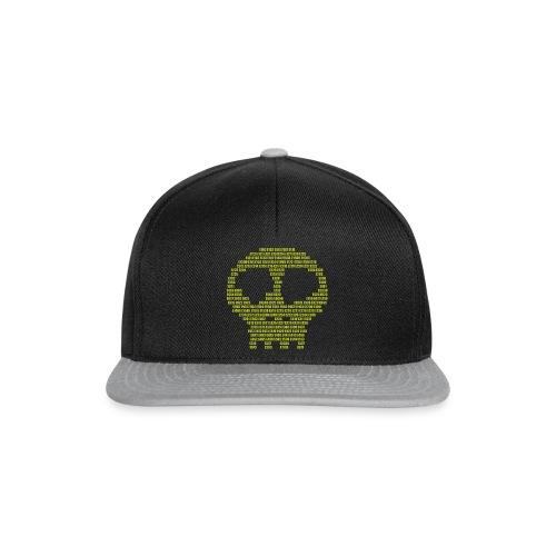 E - aditives skull - Snapback Cap