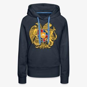 Armenien Wappen Armenia Армения Герб Wappen Frauen T-Shirt - Frauen Premium Hoodie