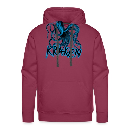 Kraken - The octopus monster - Men's Premium Hoodie