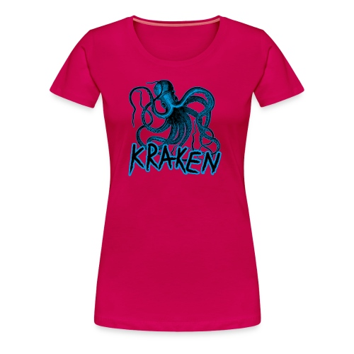 Kraken - The octopus monster - Women's Premium T-Shirt