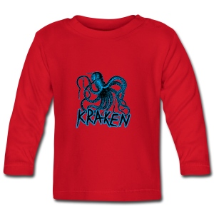 Kraken - The octopus monster - Baby Long Sleeve T-Shirt