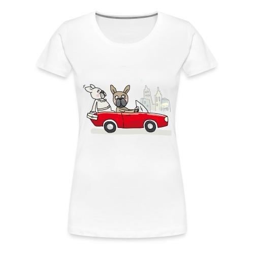Drivers dream - Frauen Premium T-Shirt