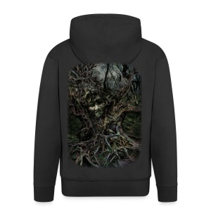 Spirit Tree - Men's Premium Hooded Jacket