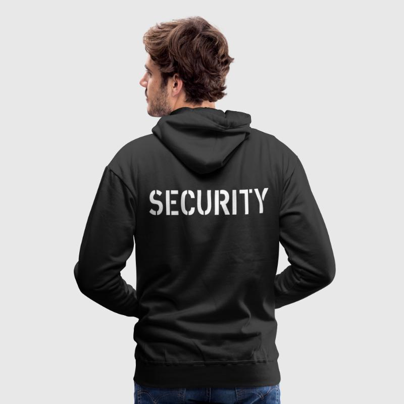 Security Sweat-shirts - Sweat-shirt à capuche Premium pour hommes
