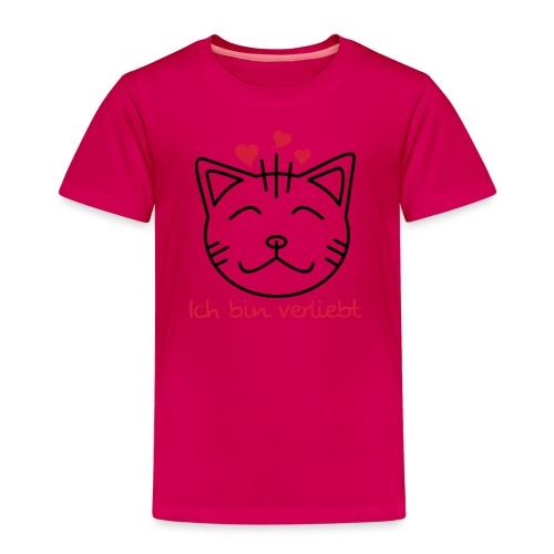 Ich bin verliebt Kitty - Kinder Premium T-Shirt