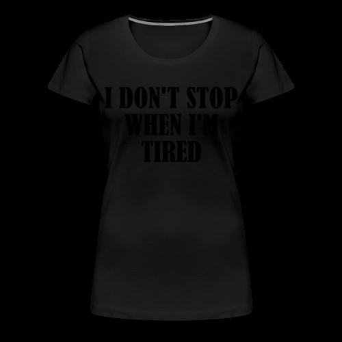 Frauen Premium T-Shirt - workout,shirt,gym,doyoueven.de,doyoueven,Weightlifting,Training,Shirts,Motivation,Lift,Fitness,Do You Even,Deutschland,DYEL,Crossfit,Bodybuilding